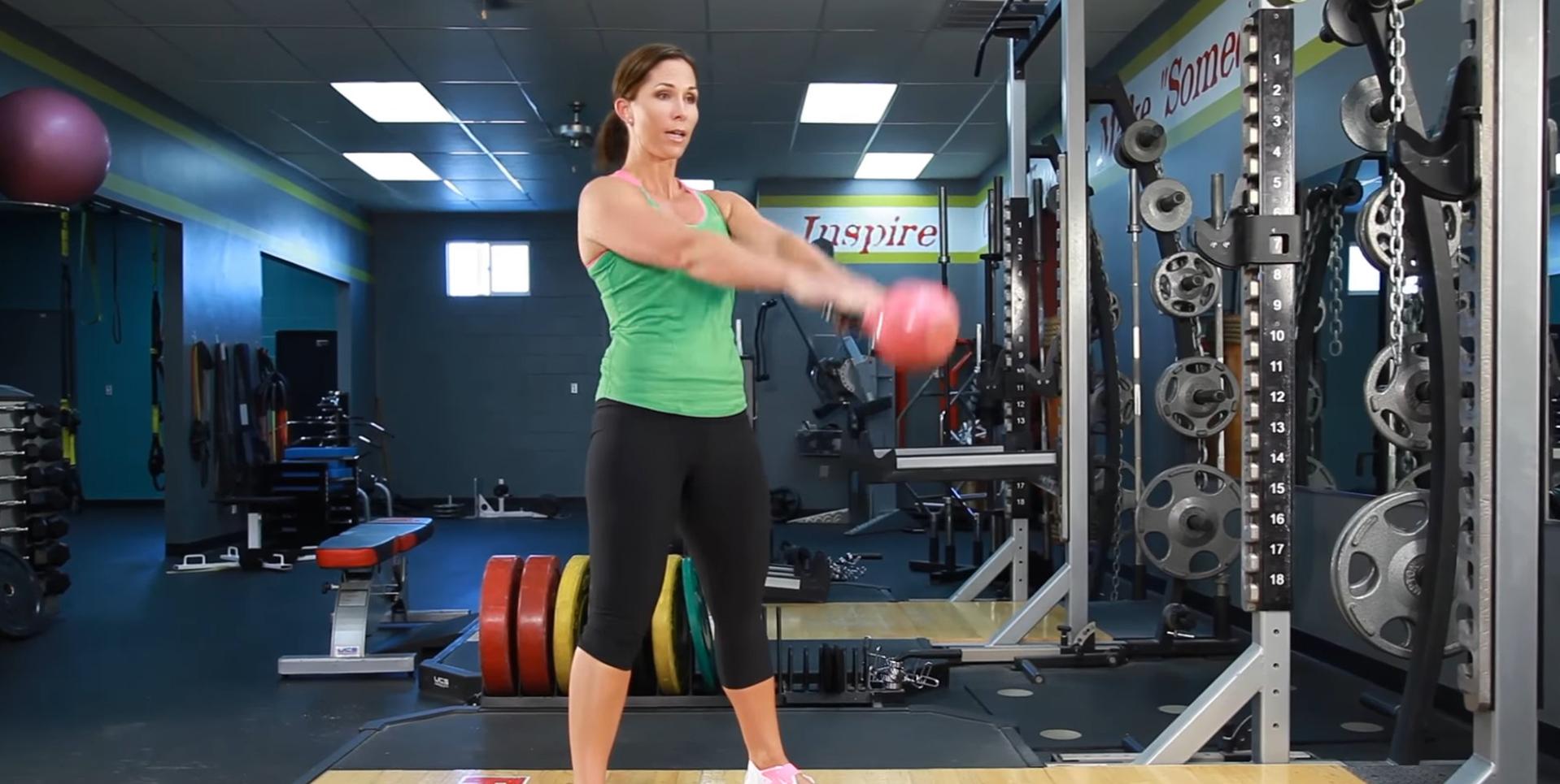 Kettlebell swings – Balansări cu Kettlebell