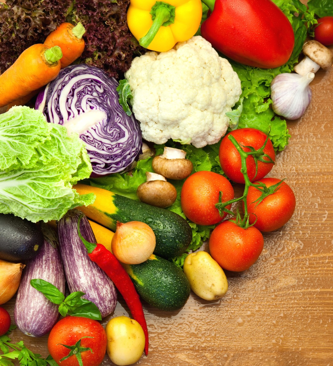 Veggies for a healthy and glowing skin
