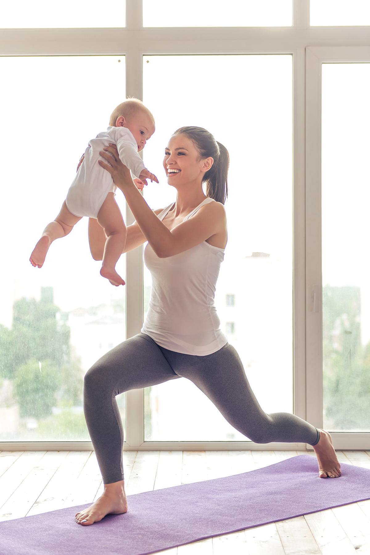 """Antrenament """"Mom & baby"""""""