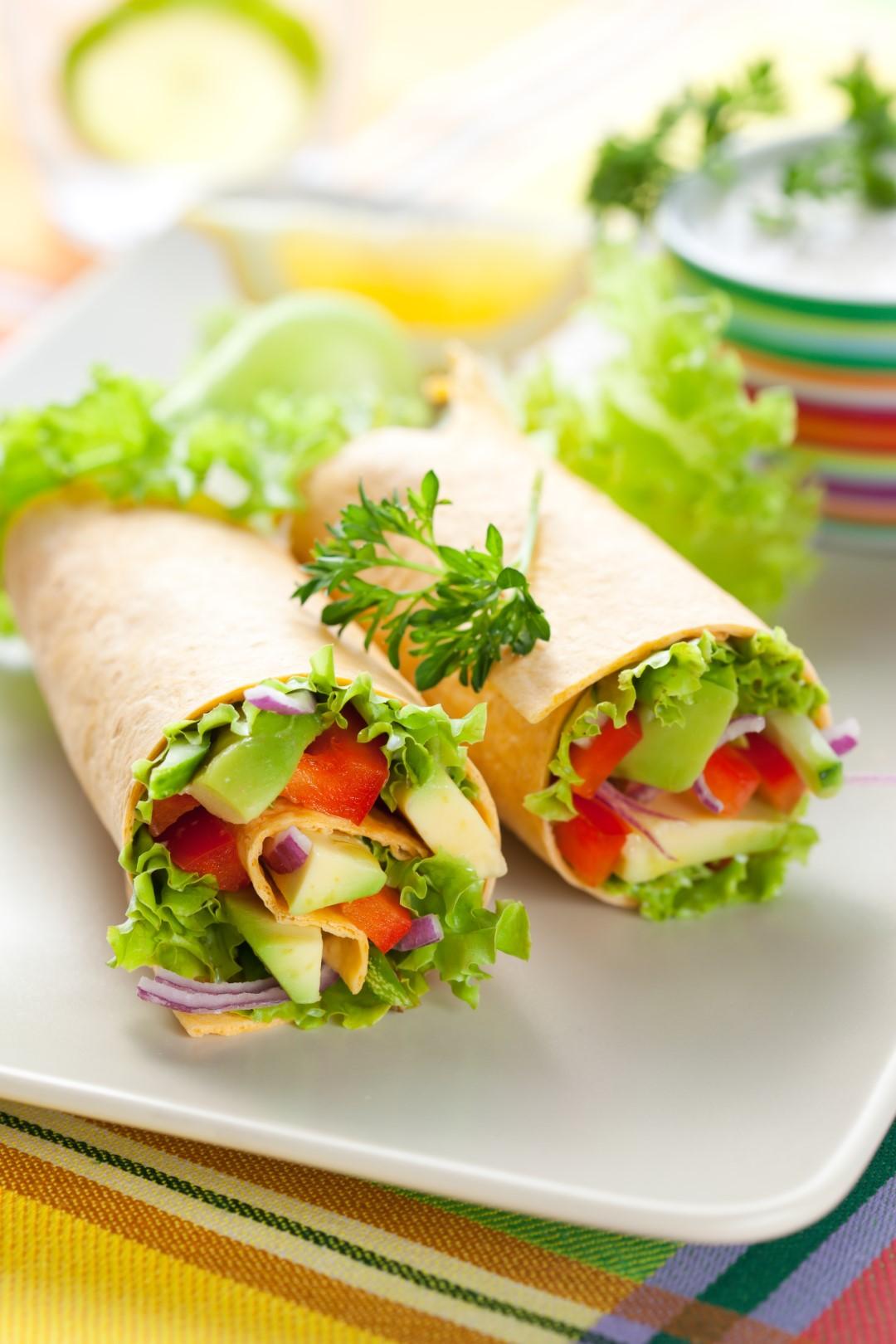 Wraps cu legume