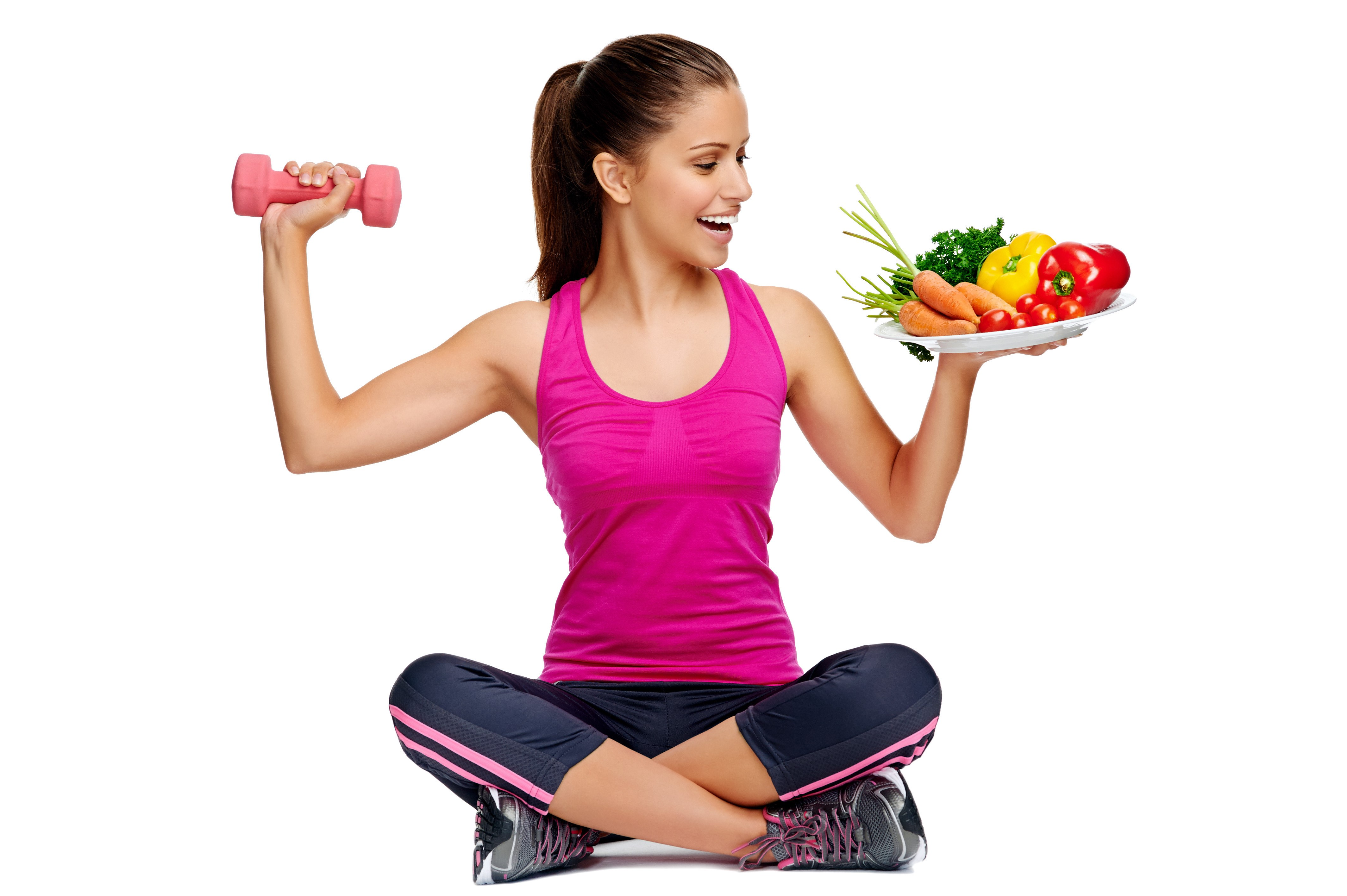 Diet and exercising combination for weight loss